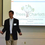 Dave Cable presenting at the 2014 Tree Canopy Summit.