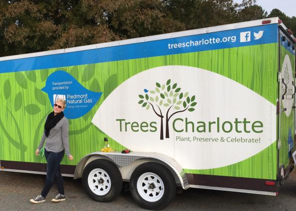 TreesCharlotte Guest Blogger Sarah M. Shumway